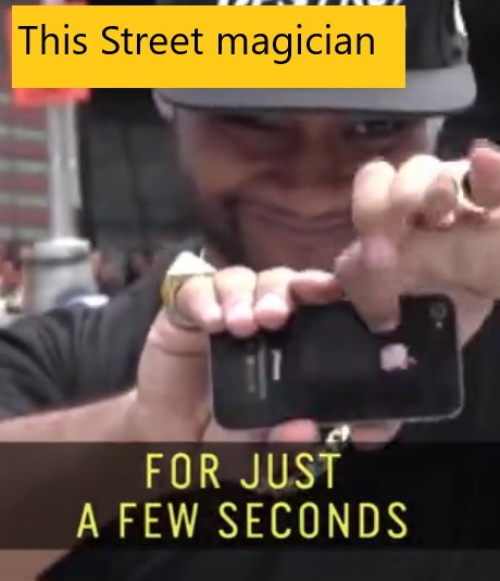 This Street magician