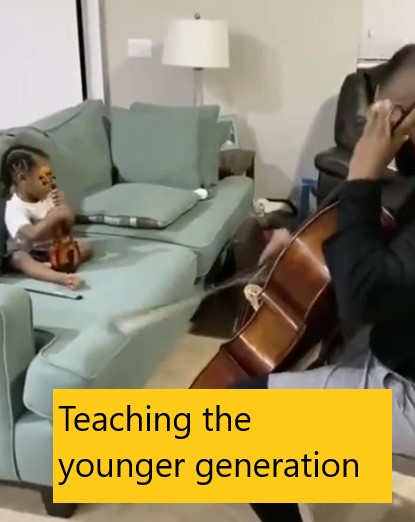 Teaching the younger generation