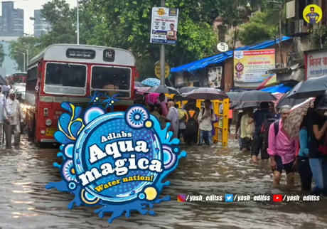 Mumbai Flood waterpark