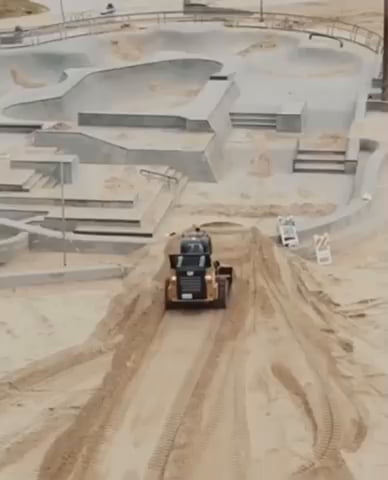 WTF – The City of LA filling the Skate Park with Sand to Keep The Skaters Out. What do you think?